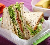 Potrójna kanapka do szkoły - w sam raz dla ucznia [przepis]