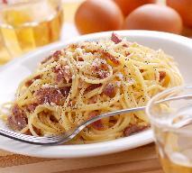 Spaghetti carbonara: jak zrobić szybko tę odmianę pasty?