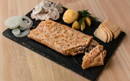 Placki ziemniaczane nadziewane grzybami, zapiekane z serem [PRZEPIS DLA SMAKOSZY]