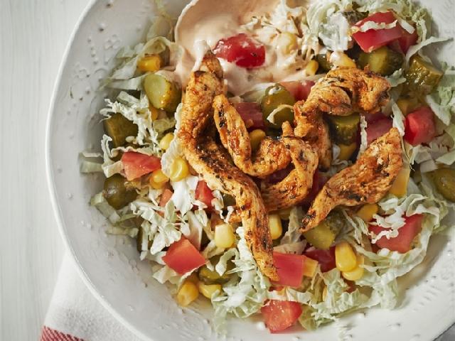 Salatka Gyros Przepis Na Salatke Z Kurczaka Beszamel Se Pl