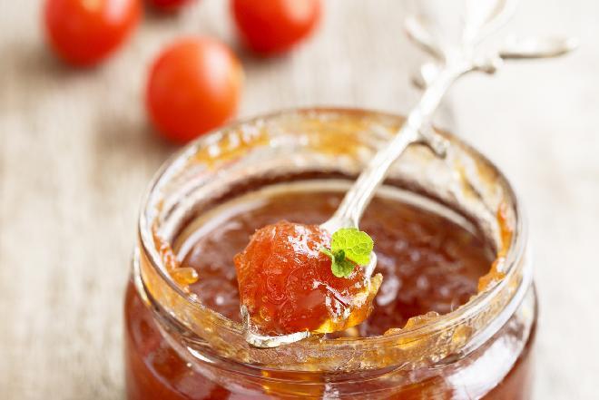 Dżem z pomidorków koktajlowych domowej roboty