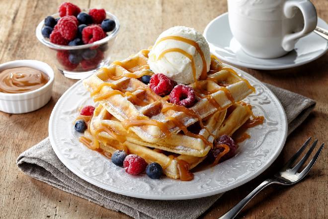 Gofry na słodko: przepis z programu TVP2 Pytanie na Śniadanie