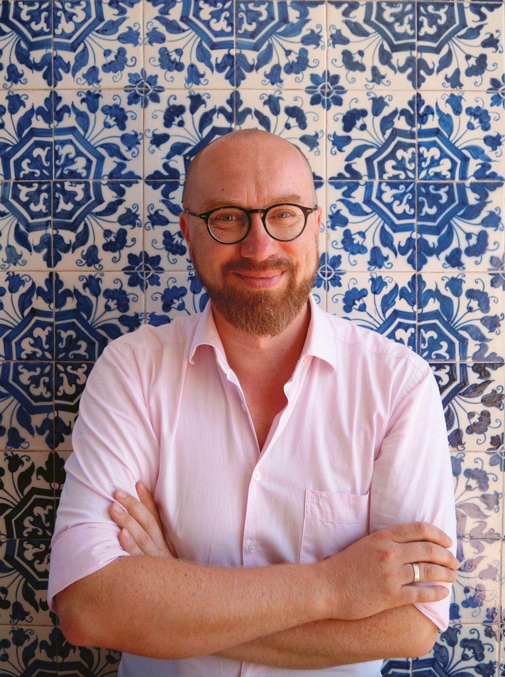 """Bartek Kieżun, autor książki """"Portugalia do zjedzenia"""""""