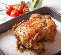 Kurczak pieczony na soli: najprostszy przepis na kurczaka pieczonego