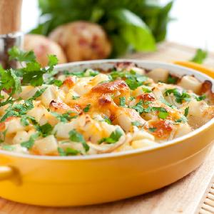 Najlepsze ziemniaki zapiekane w śmietanie