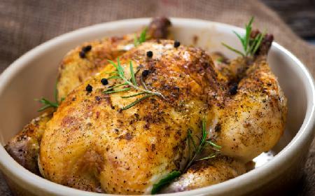 Kurczak pieczony w ziołach - przepis