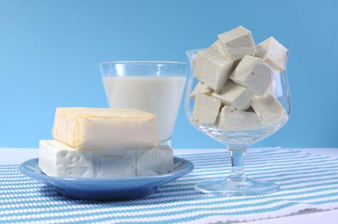 Mleko sojowe - twarożek z mleka sojowego