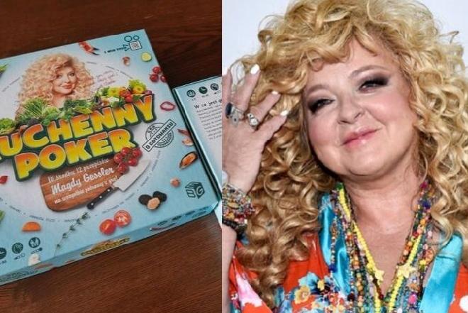 Magda Gessler bohaterką planszówki Kulinarny Poker: 12 przepisów królowej gastronomii